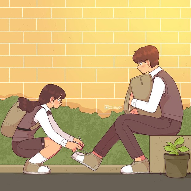Có crush hồi đi học chính là trêu nhau cho đã nhưng rồi vô tình ánh mắt chạm nhau là ngượng ngùng - Ảnh 17.