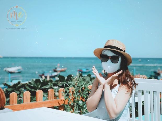 Về vùng biển vắng mà lại sợ cháy nắng, cô bạn tính hay cho ra đời bộ ảnh du lịch theo phong cách ninja khiến dân tình cười xỉu! - Ảnh 6.