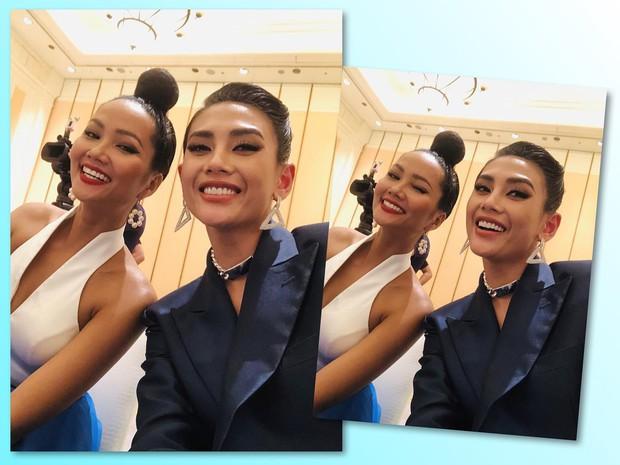 Võ Hoàng Yến, HHen Niê mỗi người một vẻ, cùng tái hiện màn giới thiệu đỉnh cao hô vang hai tiếng Việt Nam tại Miss Universe - Ảnh 2.