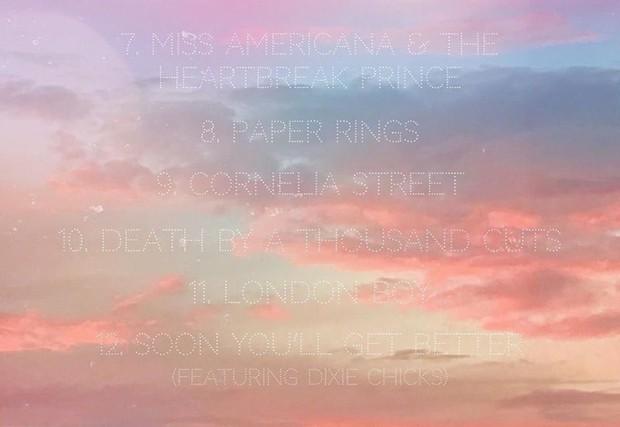 Lộ diện tracklist album Lover của Taylor Swift: Không phải Ariana Grande, Katy Perry, nghệ sĩ góp giọng sẽ khiến bạn bất ngờ! - Ảnh 2.