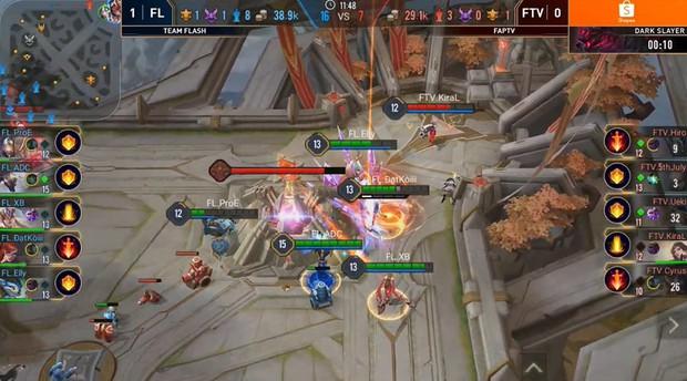 Không có bất ngờ: ADC chứng tỏ mình là người chơi Liên Quân Mobile xuất sắc nhất thế giới, Team Flash thắng dễ trước FAPTV! - Ảnh 2.