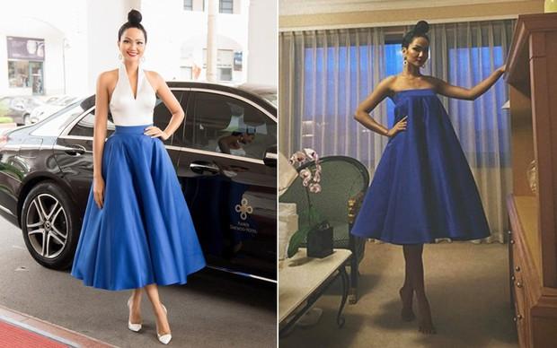 HHen Niê mò mẫm 2 kiểu mặc chân váy: Không chỉ nâng cao tính tiết kiệm mà còn dư dả độ hài hước - Ảnh 4.