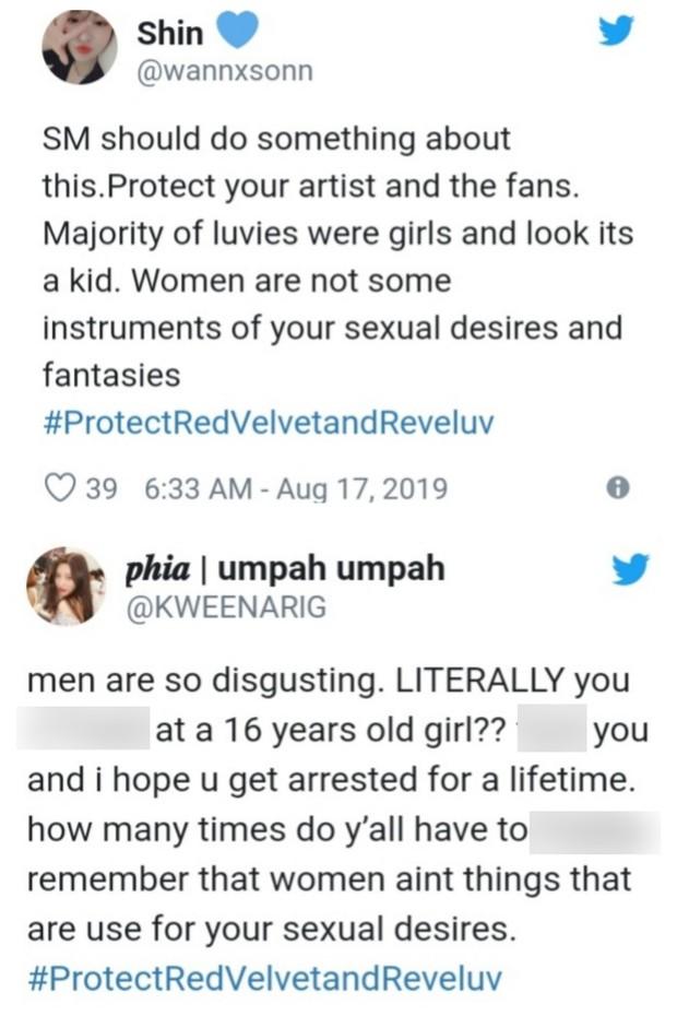 Sốc với trải nghiệm kinh hoàng của fangirl khi đi concert: Bị fan nam Red Velvet bị quấy rối tình dục bằng cách bệnh hoạn - Ảnh 3.