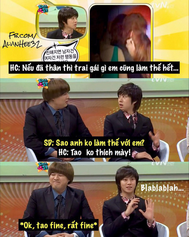 The Holy Kingdom Heechul has finally found a rival in the behavior: It turned out to be the male male Cbiz! - Photo 14.