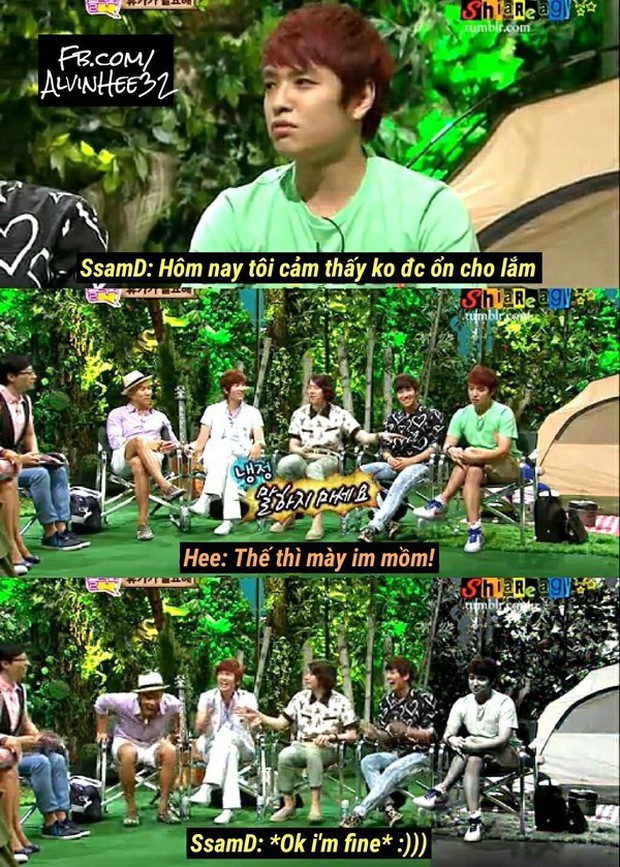 The Holy Kingdom Heechul has finally found a rival in the behavior: It turned out to be the male male Cbiz! - Photo 16.