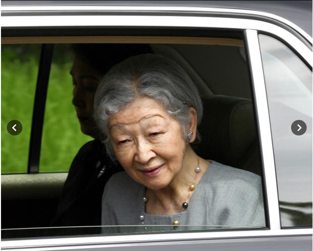 Cựu Hoàng hậu Nhật Bản lần đầu xuất hiện sau thông tin mắc bệnh ung thư vú, sắc mặt của bà khiến người hâm mộ xót xa - Ảnh 1.