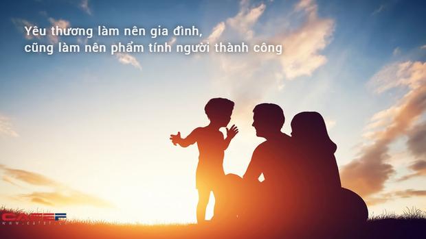 Thái độ đối với cha mẹ quyết định thái độ của cuộc sống đối với chính bản thân bạn: Thành công nào cũng đến từ nhân phẩm - Ảnh 1.
