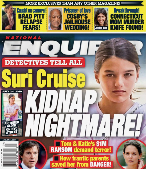 Suri Cruise becomes a million dollar object of captives? - Photo 1.