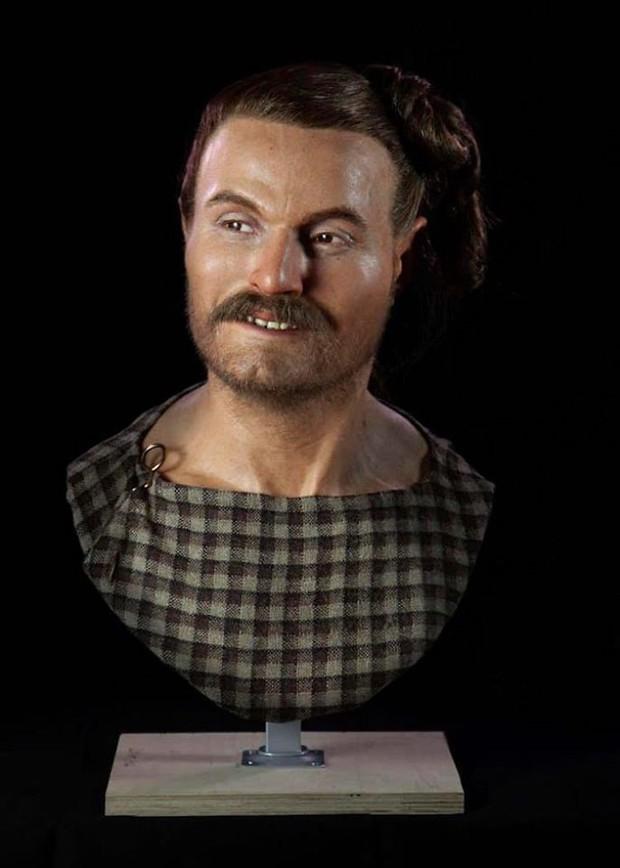 Nhà khảo cổ học điêu khắc gương mặt của người thật sống hàng nghìn năm về trước, đẹp từng milimet khiến nhiều người bị lừa - Ảnh 10.