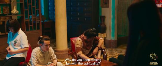 Chán chọc ma, Huỳnh Lập chuyển sang cà khịa cả quỷ trong teaser Pháp Sư Mù - Ảnh 4.