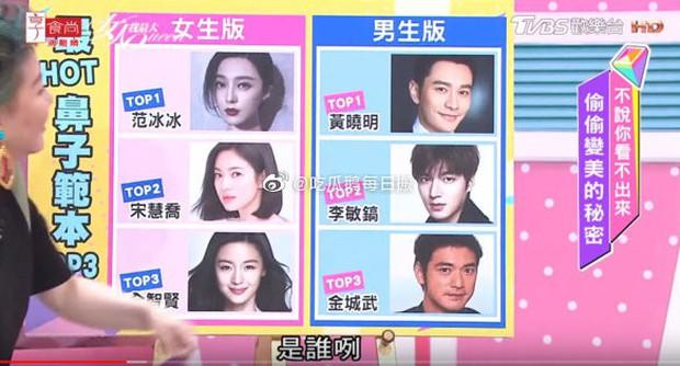 Netizen bầu chọn: Angela Baby sở hữu đôi mắt đứng top, mũi Phạm Băng Băng hoàn hảo bất chấp Song Hye Kyo - Jeon Ji Hyun - Ảnh 2.