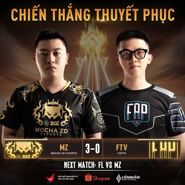 Khiên tỏa sáng giúp ZD Esports thắng dễ trước FAPTV, siêu kinh điển của Liên Quân Mobile Việt được tái hiện! - Ảnh 3.