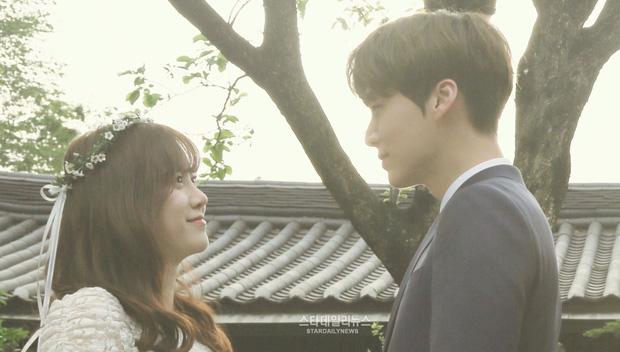 Goo Hye Sun và chồng ly hôn, fan xót xa nhớ lại trang phục cưới giản dị đơn sơ đến nhói lòng của nàng Cỏ - Ảnh 5.