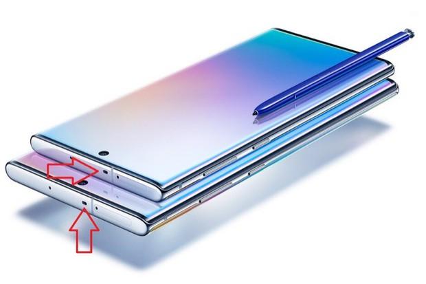Bạn có biết cái lỗ bí ẩn này trên Galaxy Note 10 là gì không? - Ảnh 1.
