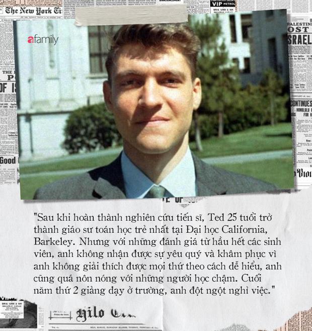 Từ thần đồng toán học có IQ 167 trở thành kẻ đánh bom khủng bố bị truy lùng suốt 17 năm và hệ quả của thí nghiệm tâm lý đáng sợ - Ảnh 8.