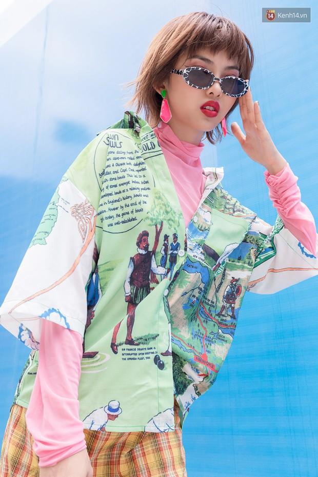 Street style giới trẻ Việt: các bạn trẻ sành mặc phô diễn đủ phong cách, từ chanh sả như tạp chí cho đến phá cách - Ảnh 8.
