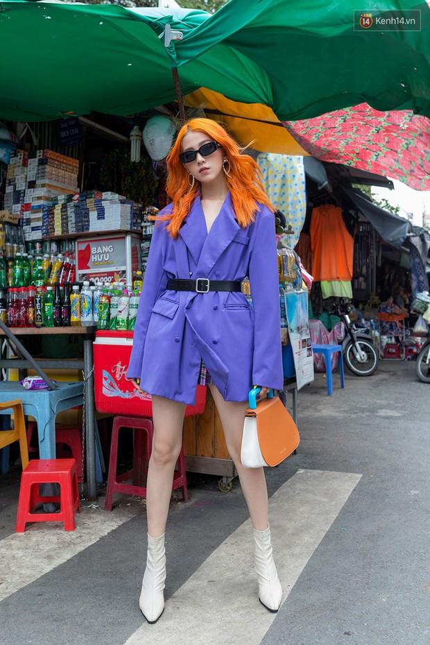 Street style giới trẻ Việt: các bạn trẻ sành mặc phô diễn đủ phong cách, từ chanh sả như tạp chí cho đến phá cách - Ảnh 1.
