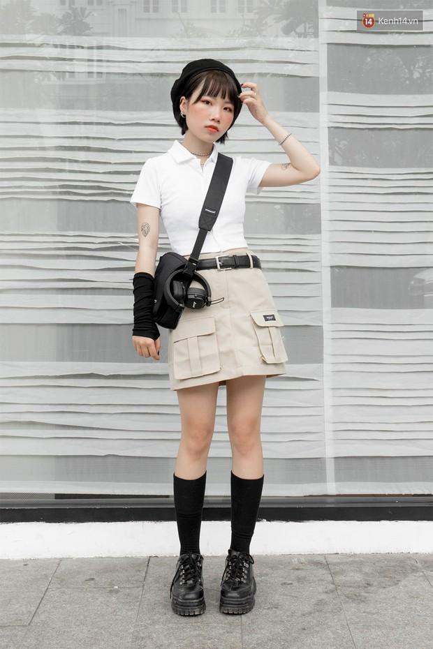 Street style giới trẻ Việt: các bạn trẻ sành mặc phô diễn đủ phong cách, từ chanh sả như tạp chí cho đến phá cách - Ảnh 5.