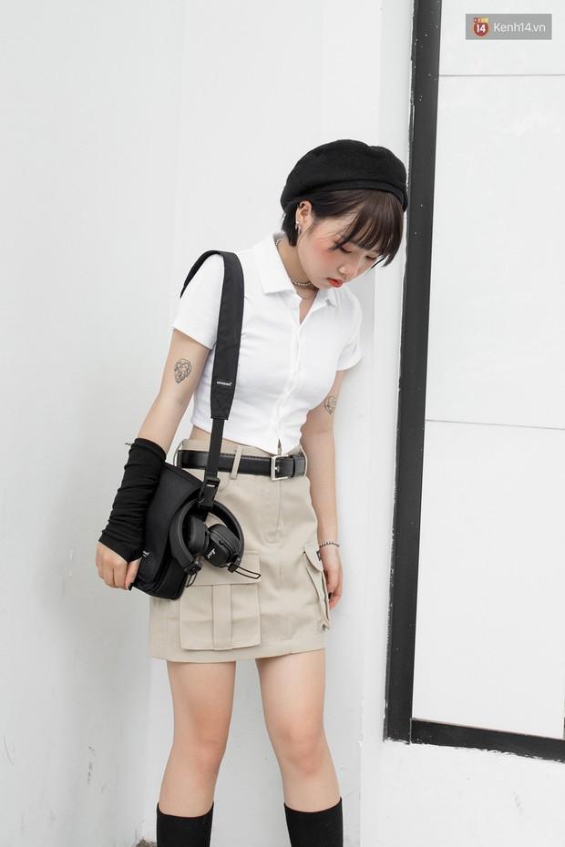 Street style giới trẻ Việt: các bạn trẻ sành mặc phô diễn đủ phong cách, từ chanh sả như tạp chí cho đến phá cách - Ảnh 6.
