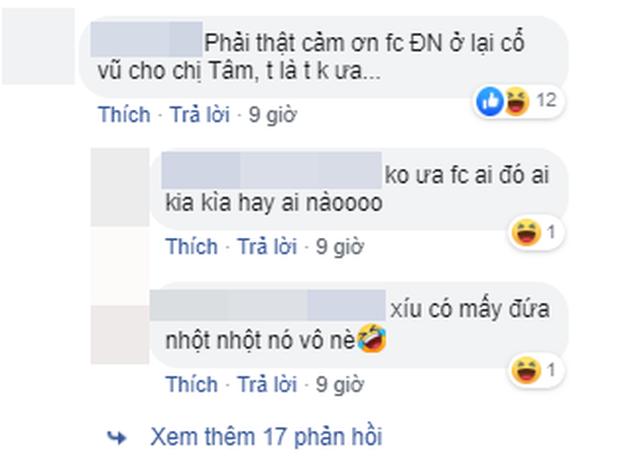Chỉ một bức ảnh khán đài, FC Mỹ Tâm, Đông Nhi, Noo Phước Thịnh hỗn chiến kịch liệt trên mạng xã hội! - Ảnh 5.