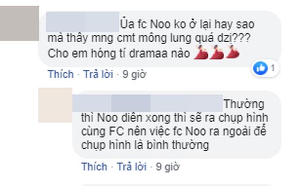 Chỉ một bức ảnh khán đài, FC Mỹ Tâm, Đông Nhi, Noo Phước Thịnh hỗn chiến kịch liệt trên mạng xã hội! - Ảnh 2.