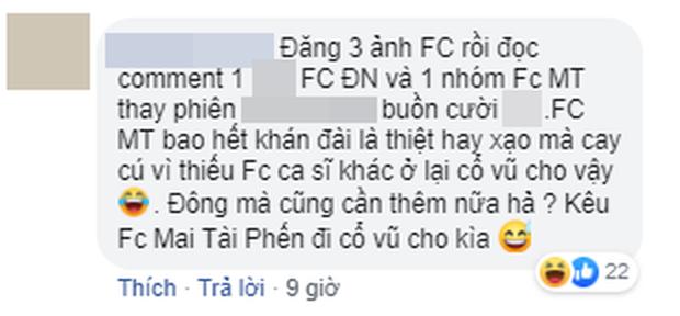 Chỉ một bức ảnh khán đài, FC Mỹ Tâm, Đông Nhi, Noo Phước Thịnh hỗn chiến kịch liệt trên mạng xã hội! - Ảnh 4.