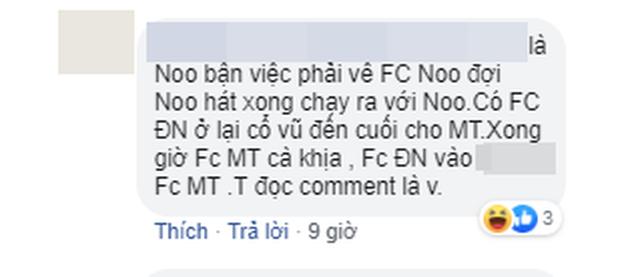 Chỉ một bức ảnh khán đài, FC Mỹ Tâm, Đông Nhi, Noo Phước Thịnh hỗn chiến kịch liệt trên mạng xã hội! - Ảnh 3.