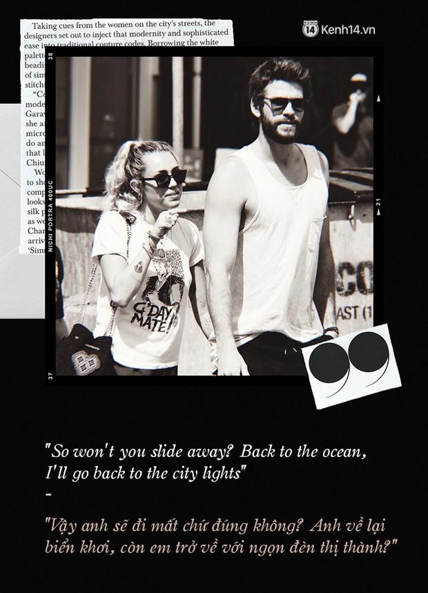 Hai bản nhạc tình của Taylor Swift và Miley Cyrus: Một người chìm đắm trong tình yêu, một người thống khổ trong đổ vỡ - Ảnh 9.