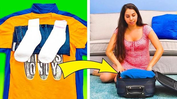 """Xếp hành lý du lịch cũng là một nghệ thuật, liệu bạn đã biết hết những """"tuyệt chiêu"""" pack đồ thông minh này chưa? - Ảnh 18."""