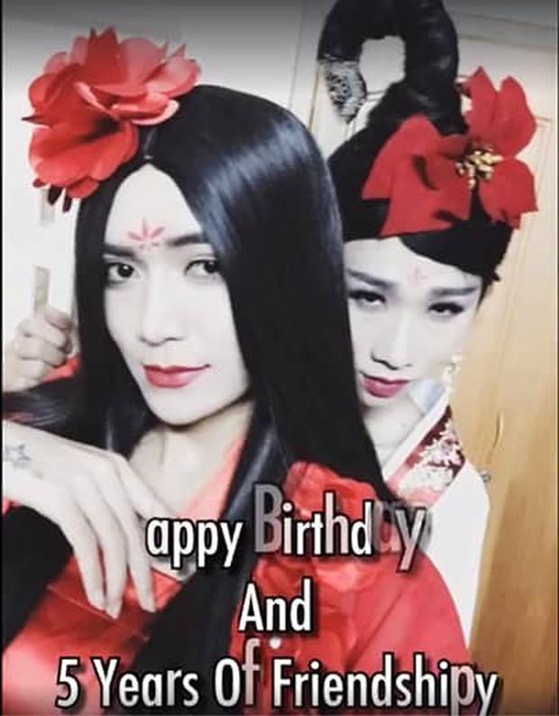 Hải Triều được chị gái Sò Lụa BB Trần cùng ekip tổ chức sinh nhật hoành tráng trong ngày sinh nhật - Ảnh 4.