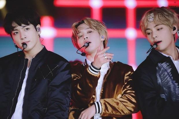 Thử tưởng tượng Jimin, V và Jungkook mà thành lập unit: Visual, giọng hát, thần thái đỉnh thế này thì nắm chắc thành công! - Ảnh 1.