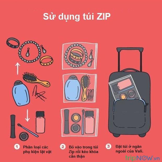 """Xếp hành lý du lịch cũng là một nghệ thuật, liệu bạn đã biết hết những """"tuyệt chiêu"""" pack đồ thông minh này chưa? - Ảnh 7."""