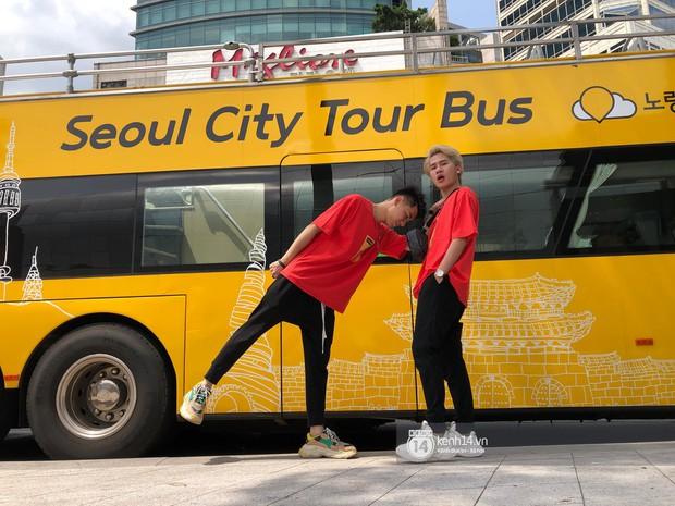 Độc quyền: Không chỉ trên sân khấu, Jack và K-ICM bình thường cũng liên tục diện đồ đôi, có nhiều cử chỉ cực thân thiết tại Hàn Quốc - Ảnh 3.