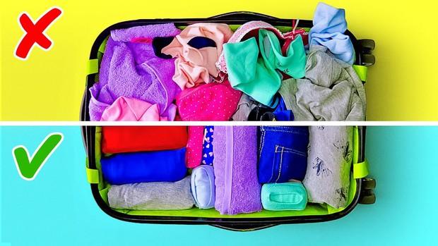 """Xếp hành lý du lịch cũng là một nghệ thuật, liệu bạn đã biết hết những """"tuyệt chiêu"""" pack đồ thông minh này chưa? - Ảnh 8."""