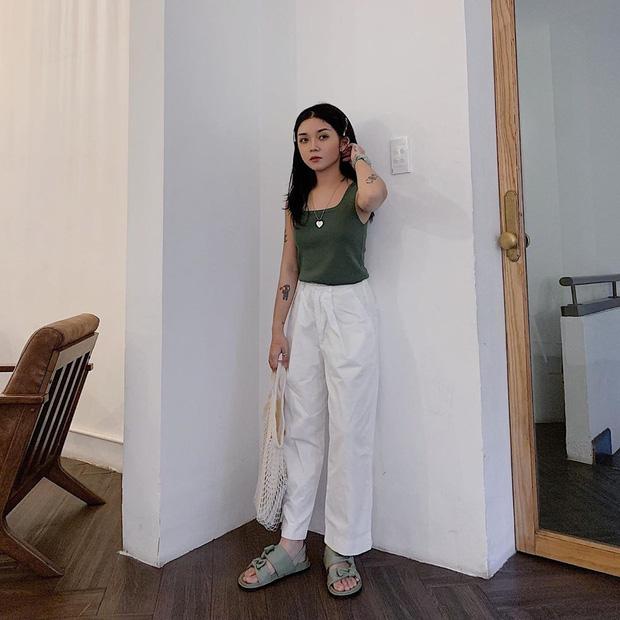 Instagram #OOTD tuần qua: chủ trương đơn giản là nhất, các cô nàng sành điệu mix đồ khoe eo hay giấu eo cũng đẹp hết nấc - Ảnh 7.