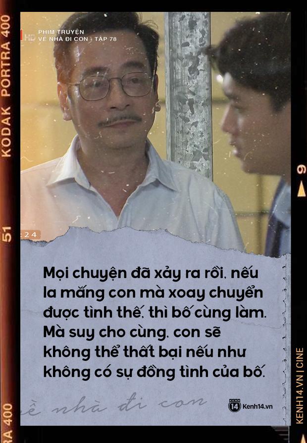 Lòng thương con vô bờ của ông Luật (Về Nhà Đi Con): Bố có thể mất hết, nếu con dám làm và dám chịu trách nhiệm - Ảnh 2.