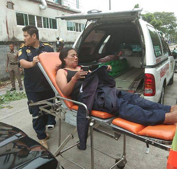 Ảnh: Hàng loạt vụ nổ rung chuyển Bangkok giờ cao điểm, ít nhất 3 người bị thương - Ảnh 9.