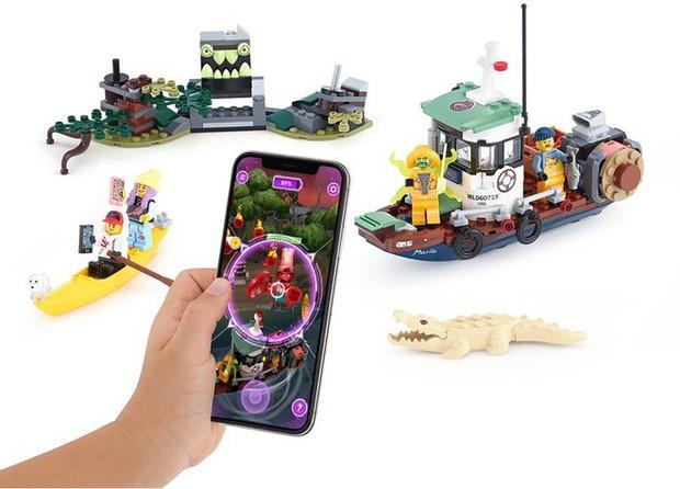 Apple trình làng LEGO AR đầu tiên trên thế giới: đồ chơi thật mà ảo, giá từ 700.000 đồng - Ảnh 2.