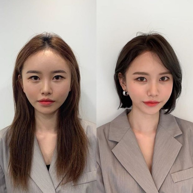Gợi ý kiểu tóc ngắn siêu nịnh nọt cho khuôn mặt tròn, góc cạnh và thon dài - Ảnh 2.