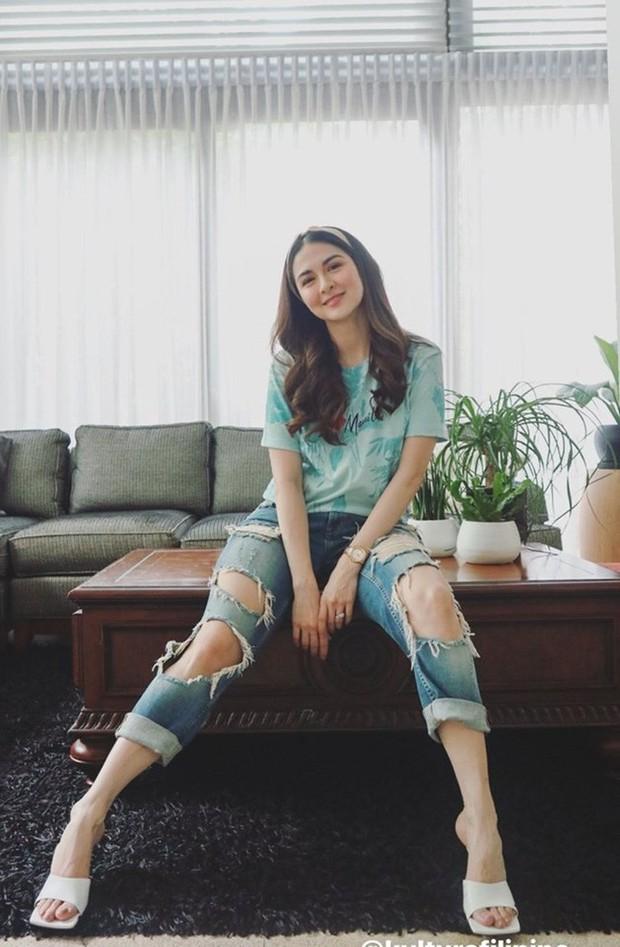 """Tái xuất showbiz, """"mẹ bầu đẹp nhất Philippines"""" lại gây thất vọng vì style tụt dốc không phanh - Ảnh 2."""