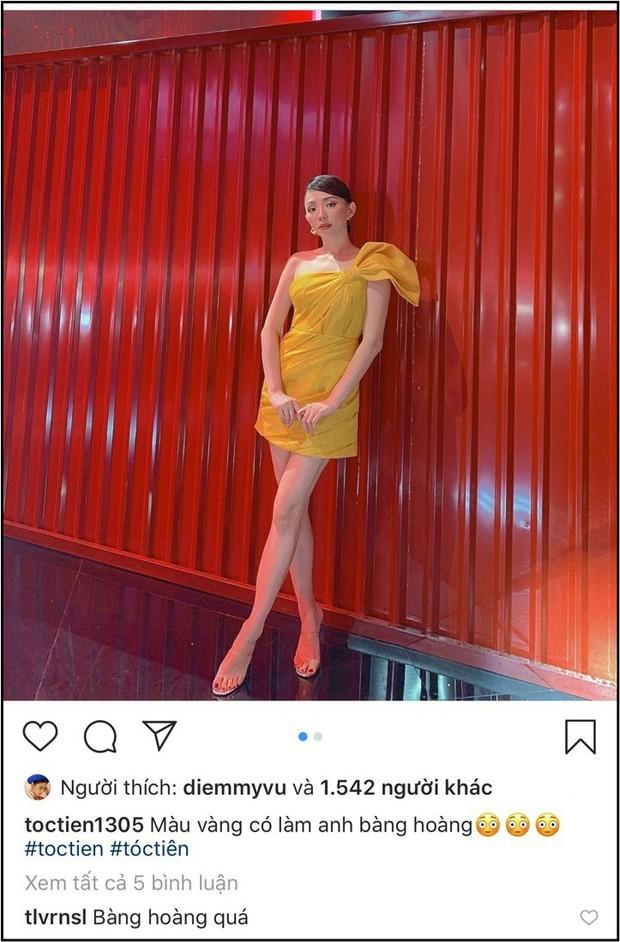 """Tóc Tiên vừa đăng ảnh """"thả thính"""", Hoàng Touliver đã lập tức đáp lời khiến fan phát sốt - Ảnh 1."""