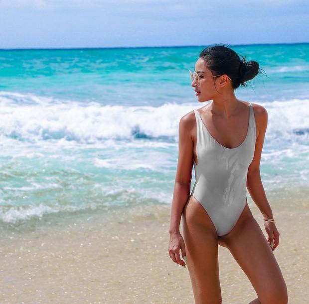 Hở nhiều hay ít không thành vấn đề, chị đẹp Meo Meo một khi đã diện bikini là bao nóng bỏng sexy! - Ảnh 1.