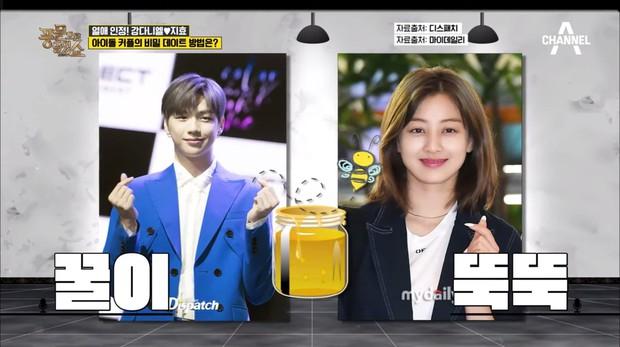 Bàn về cặp Kang Daniel – Jihyo (TWICE), talkshow Hàn Quốc tiết lộ cách hẹn hò bí mật của người nổi tiếng - Ảnh 1.
