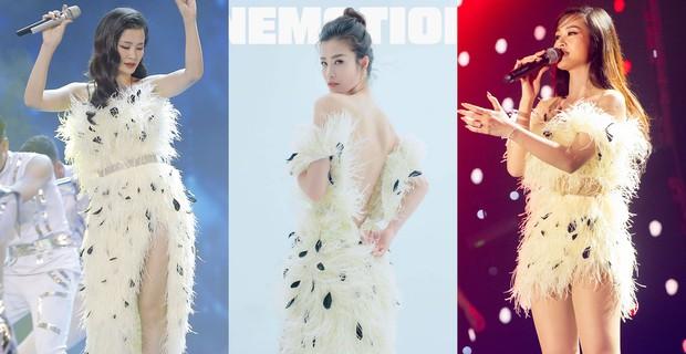 """Cắt ngắn váy cũ để mặc lại, Đông Nhi khiến các fan rôm rả: """"Chị bận tiết kiệm tiền để mua váy cưới đúng không"""" - Ảnh 8."""