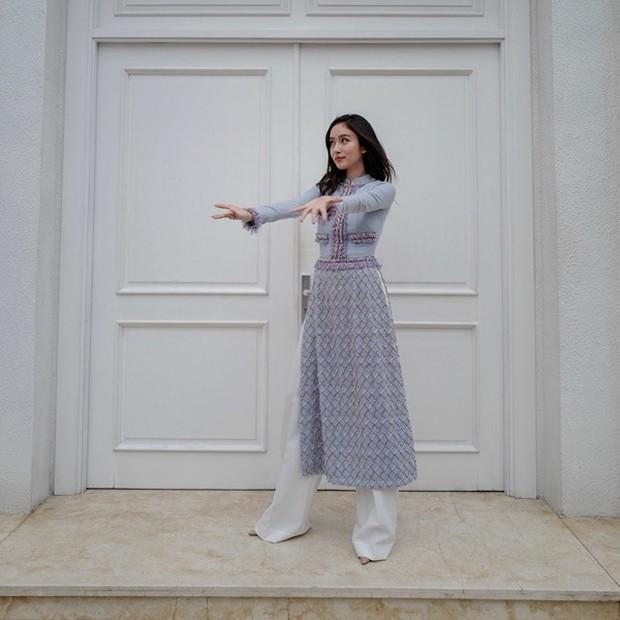 Ngắm nhìn HHHV Pia Wurtzbach diện áo dài, chẳng cứ nam nhân mà ngay cả con gái cũng phải xiêu lòng - Ảnh 6.