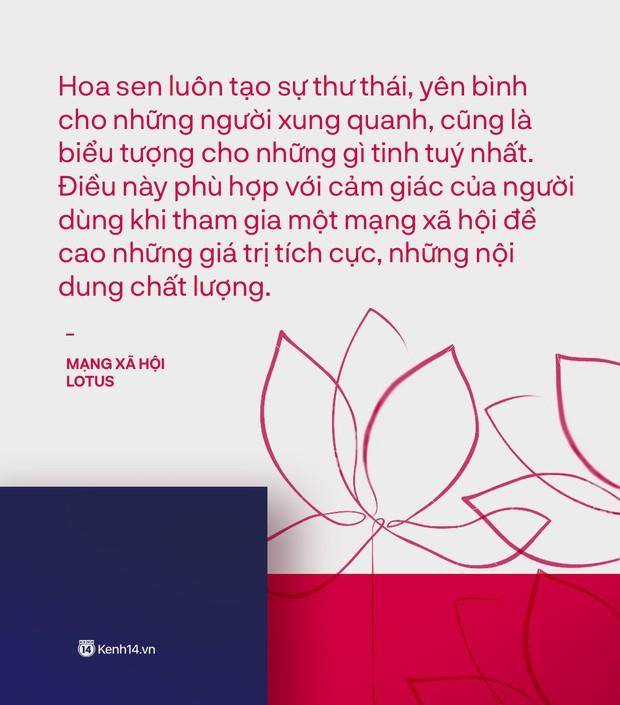 Mạng xã hội Việt vì sao lại tên là Lotus? - Ảnh 2.