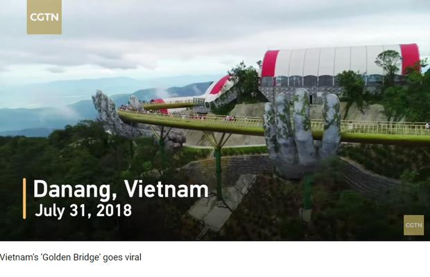 Đúng 1 năm trước, Cầu Vàng Đà Nẵng vừa xuất hiện đã trở thành hiện tượng làm dậy sóng báo chí và cả MXH quốc tế - Ảnh 6.