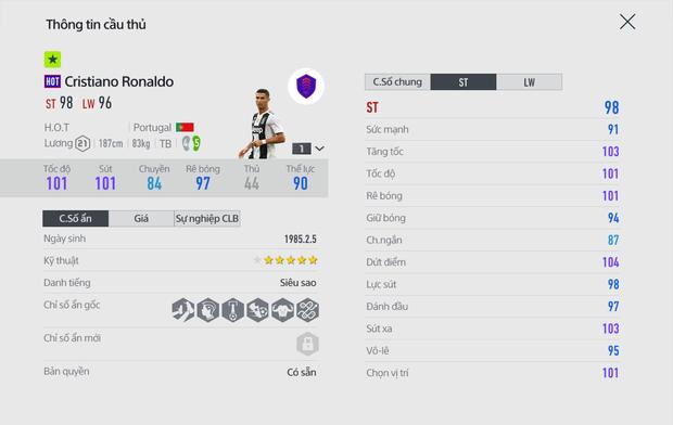 FIFA Online 4 ra mắt mùa thẻ Siêu nhân toàn sao hạng khủng, chỉ số trên trời! - Ảnh 8.