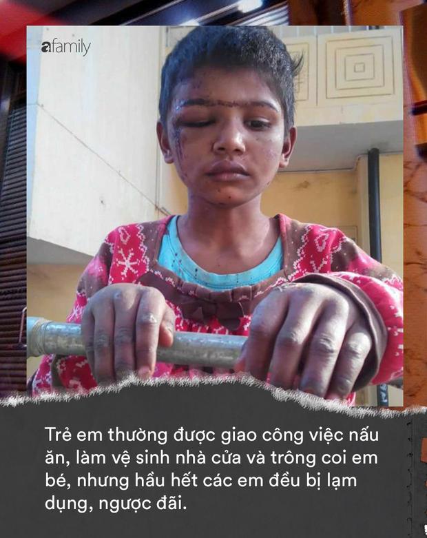 Khi trẻ em làm giúp việc cho nhà giàu: Bị ngược đãi tàn nhẫn, bữa ăn chan nước mắt và những cái chết đầy tức tưởi - Ảnh 2.