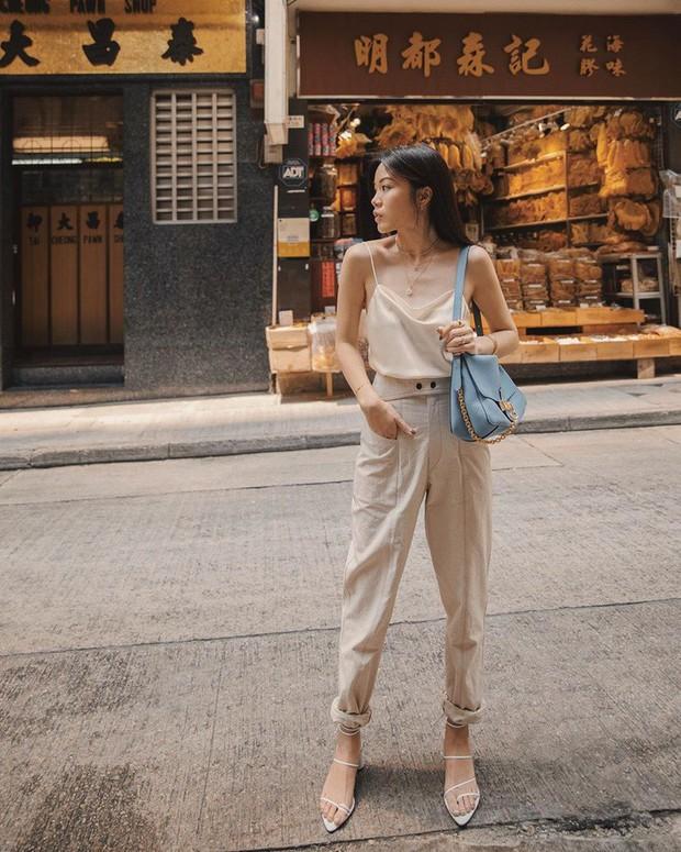 Street style châu Á: chẳng cầu kỳ, các cô nàng chỉ mix vài ba món đồ công sở đơn giản mà vẫn mãn nhãn người nhìn - Ảnh 14.